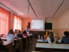 Выступление представителя компании ЭКАН в РБ Ласковца П.А.