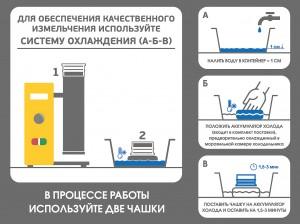 система охлаждения ВЬЮГИ