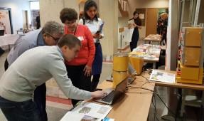 Работа выставки в рамках конференции